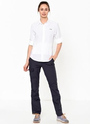 Columbia Columbia FL7278 Womens Tamiami II Ls Shirt Gömlek Beyaz